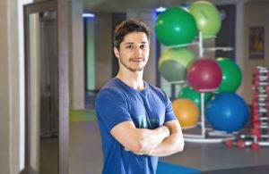 Portrait Personal Trainer Tom Franke aus Leipzig