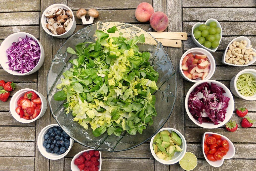 Essen Sie mehr Gemüse!